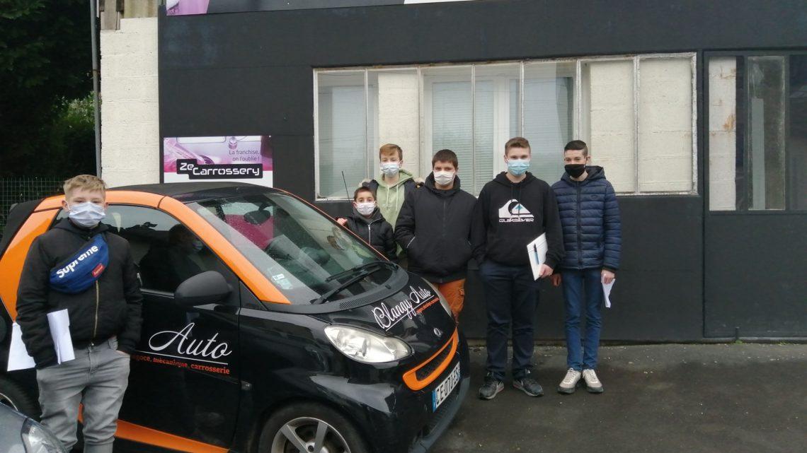 Visite Garage Blangy-Auto