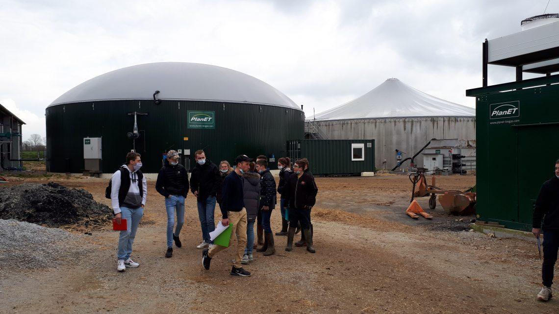 Visite exploitation laitière